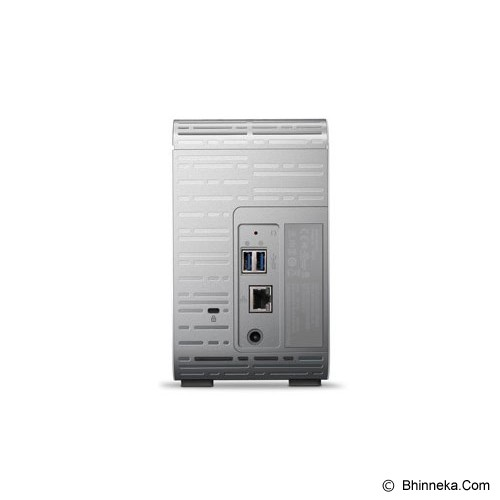WD My Cloud Mirror 10TB [WDBZVM0100JWT-SESN] - SMB NAS 2-bay
